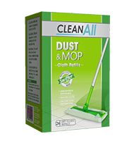 Cleanall Dust & Mop Dry Cloth Refills 24pk