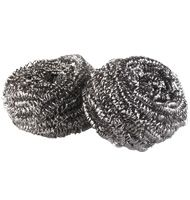 Stainless Steel Scrubbers 2pk